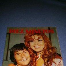 Coleccionismo de Revista Diez Minutos: DIEZ MINUTOS Nº 1092 1972 PALOMO LINARES, GLORIA CAMARA, LUIS GARDEY, ESTHER SANTANA. Lote 71782243