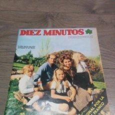 Coleccionismo de Revista Diez Minutos: REVISTA ANTIGUA ( DIEZ MINUTOS) AÑO 1975. Lote 71827955