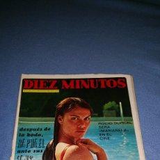 Coleccionismo de Revista Diez Minutos: DIEZ MINUTOS Nº 1094 1972 ROCIO DURCAL, RAPHAEL, MARISA PAREDES, POSTER FEDERICO CABO Y MARIA MONTEZ. Lote 71935867