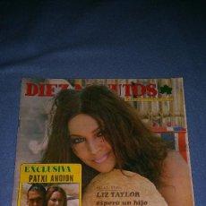 Coleccionismo de Revista Diez Minutos: DIEZ MINUTOS Nº 1196 1974. LIZ TAYLOR, PATXI ANDION, SARA MONTIEL, ROBERT REDFORD, FRANK SINATRA, B. Lote 72302695