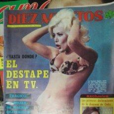 Coleccionismo de Revista Diez Minutos: DIEZ MINUTOS 1976 N1275 EL DESTAPE EN TV . Lote 74793359