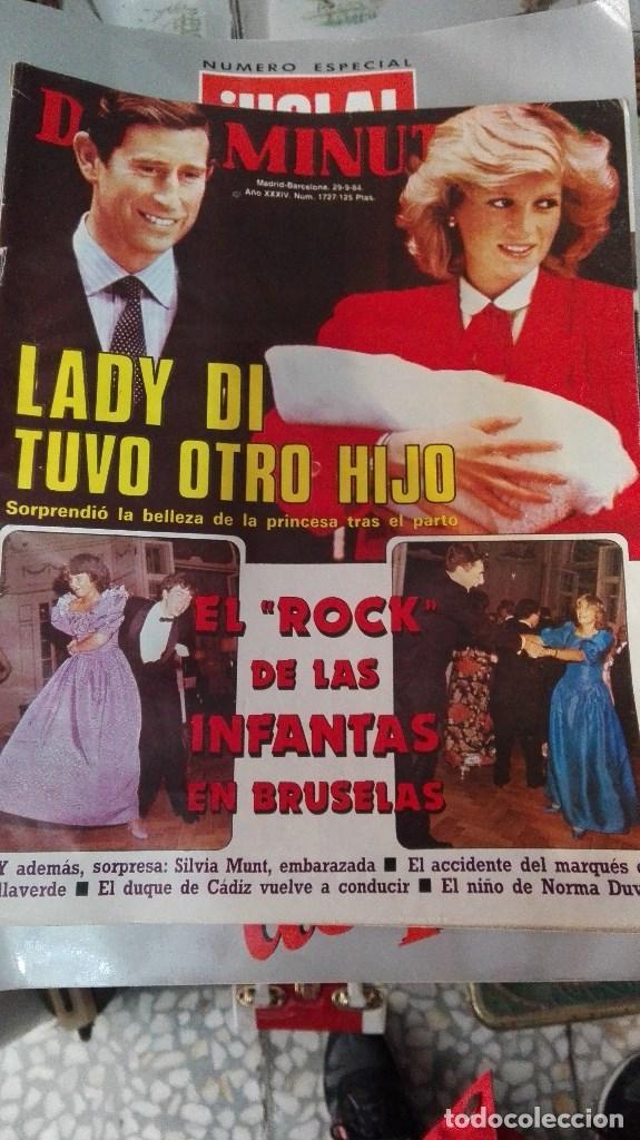 DIEZ MINUTOS LADY DI TUVO OTRO HIJO (Coleccionismo - Revistas y Periódicos Modernos (a partir de 1.940) - Revista Diez Minutos)