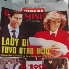 Coleccionismo de Revista Diez Minutos: DIEZ MINUTOS LADY DI TUVO OTRO HIJO. Lote 75492175