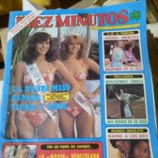 Coleccionismo de Revista Diez Minutos: REVISTA DIEZ MINUTOS. 1980.. Lote 76190990