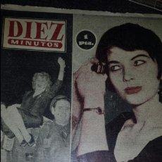 Coleccionismo de Revista Diez Minutos: REVISTA DIEZ MINUTOS 14 AGOSTO 1955 N°207. Lote 76536378