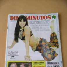 Coleccionismo de Revista Diez Minutos: DIEZ MINUTOS Nº 1222 - 1975 LIZA MINNELLI RAPHAEL AURORA BAUTISTA SUSANA ESTRADA CAROLYN MUNRO ERCOM. Lote 80198081
