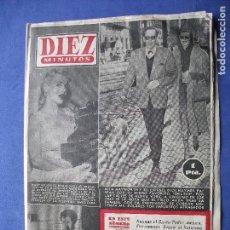 Coleccionismo de Revista Diez Minutos: DIEZ MINUTOS RITA HAYWORTH - MARY WILSON PRECIO 1 PESETA - Nº 134 -21/3/1954 PDELUXE. Lote 81534720