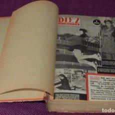 Coleccionismo de Revista Diez Minutos: TOMO CONTENIENDO AÑO COMPLETO 1953 - REVISTA DIEZ MINUTOS - ¡¡HAZME UNA OFERTA!!. Lote 83472752