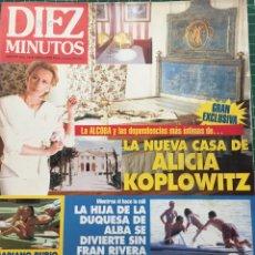 Coleccionismo de Revista Diez Minutos: DIEZ MINUTOS ANA OBREGON VICTORIA VERA MARIBEL VERDU 1994. Lote 84416084