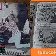 Coleccionismo de Revista Diez Minutos: REVISTA DIEZ MINUTOS 1965 ROCÍO DÚRCAL. Lote 90006228