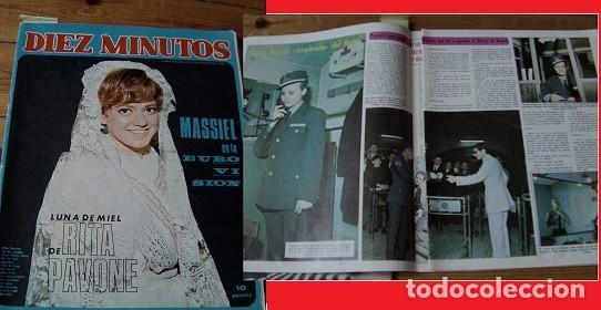 DIEZ MINUTOS 1968 ROCÍO DÚRCAL (Coleccionismo - Revistas y Periódicos Modernos (a partir de 1.940) - Revista Diez Minutos)