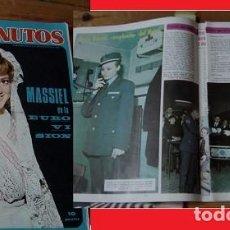 Coleccionismo de Revista Diez Minutos: DIEZ MINUTOS 1968 ROCÍO DÚRCAL. Lote 90025476