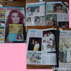 Coleccionismo de Revista Diez Minutos: REVISTA DIEZ MINUTOS 1978 CARMEN SEVILLA - ROCÍO DÚRCAL - JULIO IGLESIAS. Lote 90025848