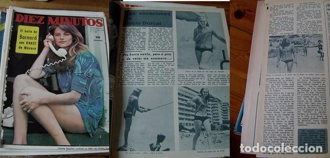 REVISTA DIEZ MINUTOS 1968 ROCÍO DÚRCAL (Coleccionismo - Revistas y Periódicos Modernos (a partir de 1.940) - Revista Diez Minutos)
