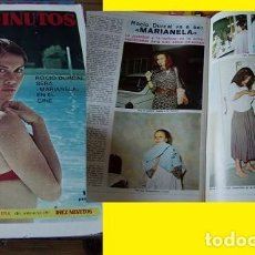 Coleccionismo de Revista Diez Minutos: REVISTA DIEZ MINUTOS 1972 ROCÍO DÚRCAL. Lote 90059348
