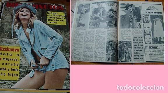 REVISTA DIEZ MINUTOS 1971 ROCÍO DÚRCAL (Coleccionismo - Revistas y Periódicos Modernos (a partir de 1.940) - Revista Diez Minutos)
