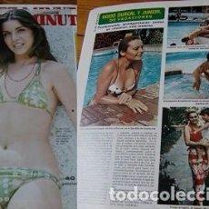 Coleccionismo de Revista Diez Minutos: REVISTA DIEZ MINUTOS 1976 ROCÍO DÚRCAL. Lote 146523917