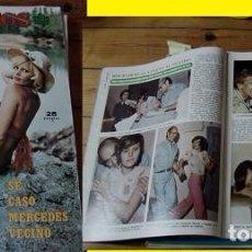Coleccionismo de Revista Diez Minutos: REVISTA DIEZ MINUTOS 1974 ROCÍO DÚRCAL. Lote 90117672
