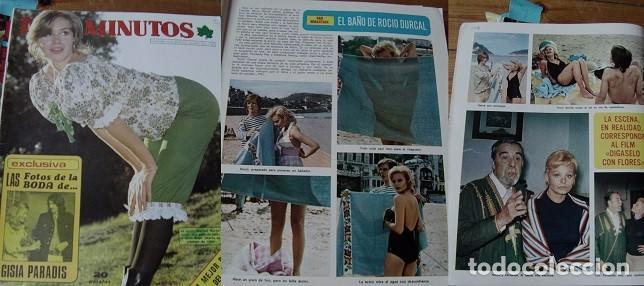 REVISTA DIEZ MINUTOS 1973 ROCÍO DÚRCAL (Coleccionismo - Revistas y Periódicos Modernos (a partir de 1.940) - Revista Diez Minutos)