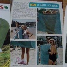 Coleccionismo de Revista Diez Minutos: REVISTA DIEZ MINUTOS 1973 ROCÍO DÚRCAL. Lote 90118320