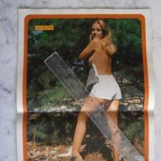 Coleccionismo de Revista Diez Minutos: POSTER REVISTA DIEZ MINUTOS - MARIA KOSTI - SEPTIEMBRE - 1976 MIDE 43 X 28 C.M.. Lote 91373140