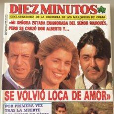 Coleccionismo de Revista Diez Minutos: DIEZ MINUTOS Nº 1965 AÑO 1989. Lote 95620071