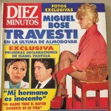 Coleccionismo de Revista Diez Minutos: DIEZ MINUTOS Nº 2069 AÑO 1991. Lote 95621531