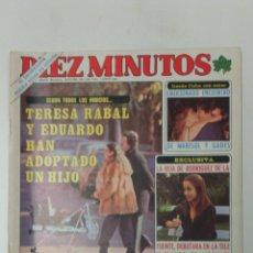 Coleccionismo de Revista Diez Minutos: REVISTA DIEZ MINUTOS AÑO 1980 . Lote 95691996
