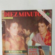Coleccionismo de Revista Diez Minutos: REVISTA DIEZ MINUTOS AÑO 1980 . Lote 95692474