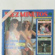 Coleccionismo de Revista Diez Minutos: REVISTA DIEZ MINUTOS AÑO 1980 . Lote 95693483