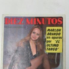 Coleccionismo de Revista Diez Minutos: REVISTA DIEZ MINUTOS AÑO 1973. Lote 95693643
