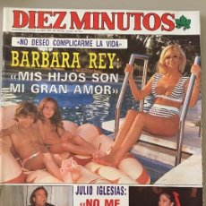 Coleccionismo de Revista Diez Minutos: DIEZ MINUTOS Nº 1981 / AÑO 1989. Lote 95747771