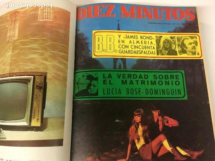 Coleccionismo de Revista Diez Minutos: REVISTA DIEZ MINUTOS tomo 1r semestre 1968 - Foto 4 - 95842283