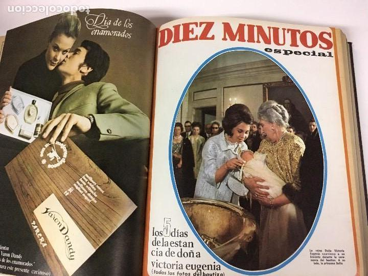 Coleccionismo de Revista Diez Minutos: REVISTA DIEZ MINUTOS tomo 1r semestre 1968 - Foto 5 - 95842283