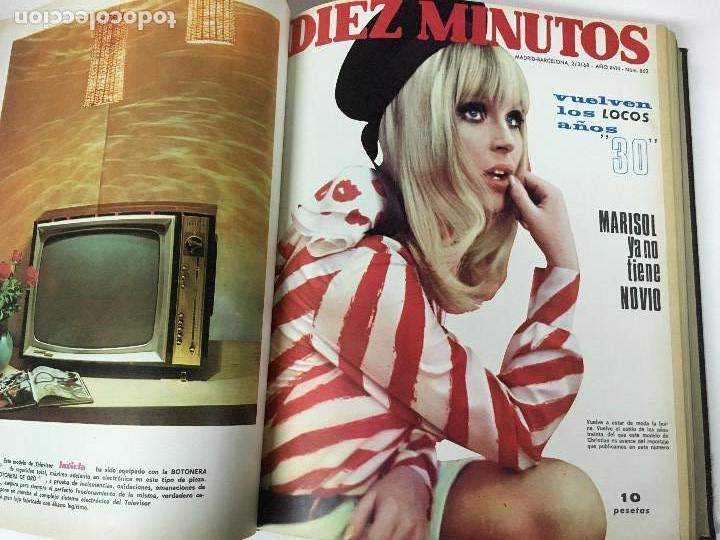 Coleccionismo de Revista Diez Minutos: REVISTA DIEZ MINUTOS tomo 1r semestre 1968 - Foto 6 - 95842283