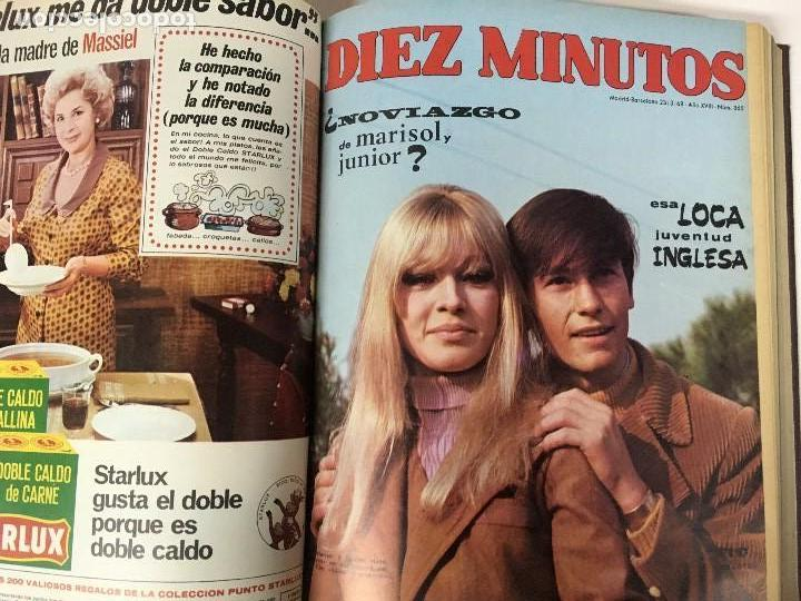 Coleccionismo de Revista Diez Minutos: REVISTA DIEZ MINUTOS tomo 1r semestre 1968 - Foto 7 - 95842283