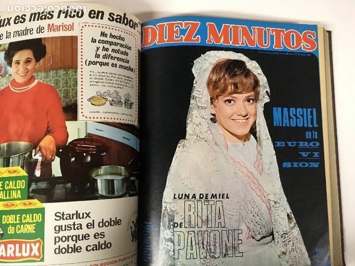 Coleccionismo de Revista Diez Minutos: REVISTA DIEZ MINUTOS tomo 1r semestre 1968 - Foto 8 - 95842283