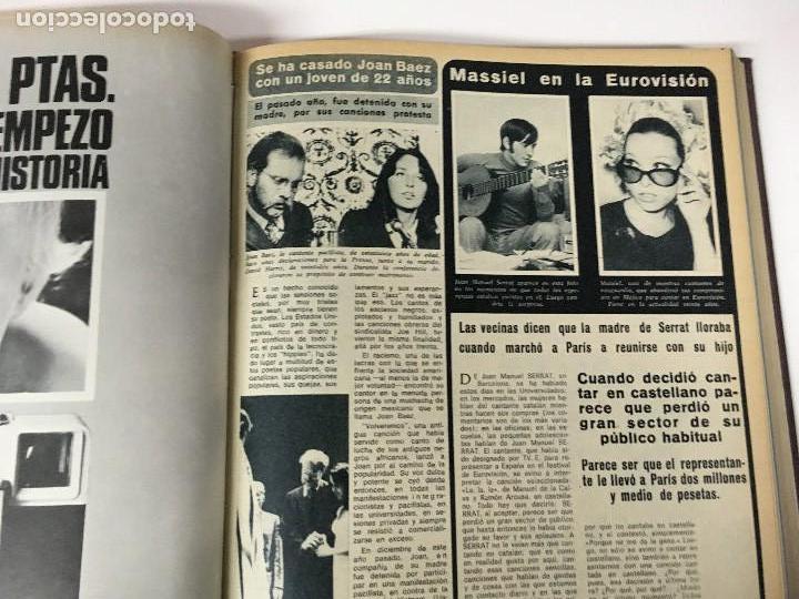 Coleccionismo de Revista Diez Minutos: REVISTA DIEZ MINUTOS tomo 1r semestre 1968 - Foto 9 - 95842283