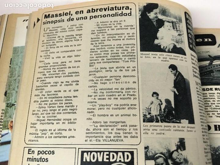 Coleccionismo de Revista Diez Minutos: REVISTA DIEZ MINUTOS tomo 1r semestre 1968 - Foto 12 - 95842283