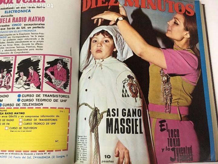 Coleccionismo de Revista Diez Minutos: REVISTA DIEZ MINUTOS tomo 1r semestre 1968 - Foto 14 - 95842283