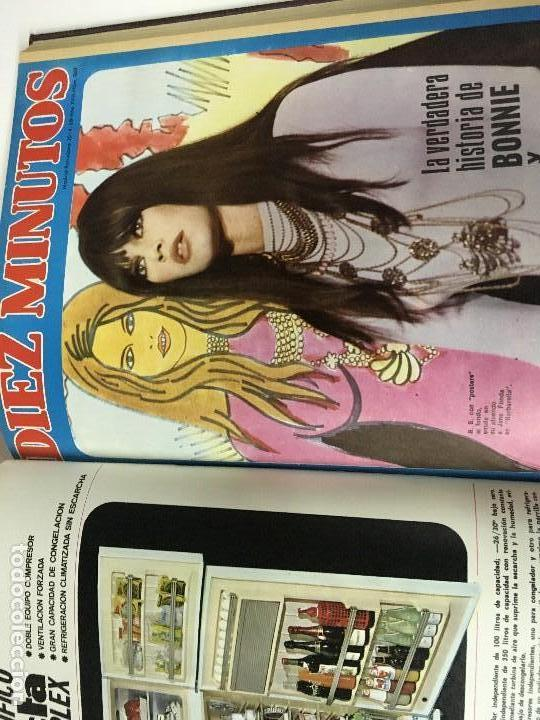 Coleccionismo de Revista Diez Minutos: REVISTA DIEZ MINUTOS tomo 1r semestre 1968 - Foto 15 - 95842283