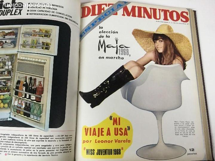 Coleccionismo de Revista Diez Minutos: REVISTA DIEZ MINUTOS tomo 1r semestre 1968 - Foto 17 - 95842283