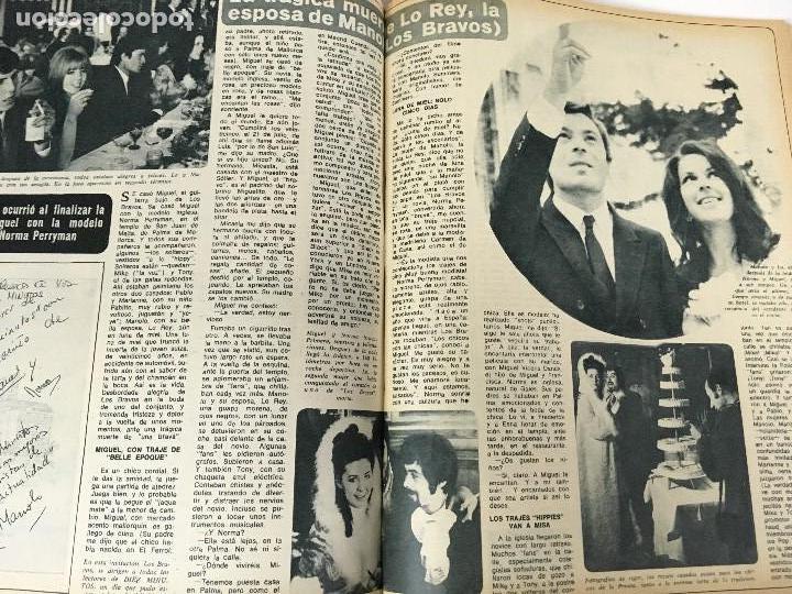 Coleccionismo de Revista Diez Minutos: REVISTA DIEZ MINUTOS tomo 1r semestre 1968 - Foto 18 - 95842283