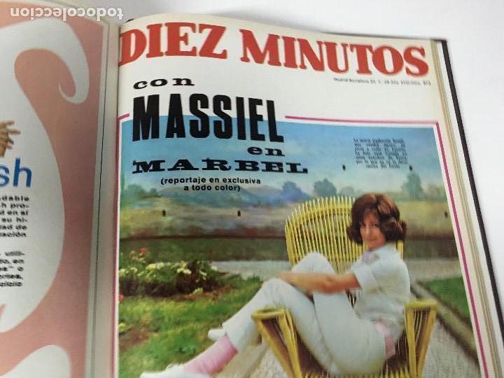 Coleccionismo de Revista Diez Minutos: REVISTA DIEZ MINUTOS tomo 1r semestre 1968 - Foto 21 - 95842283