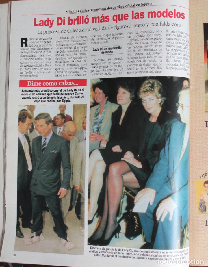 Coleccionismo de Revista Diez Minutos: Diez Minutos nº 2275. 31-13-95 Año XLV. Boda Infanta Elena y Jaime de Marichalar - (1995) - Foto 2 - 245590530