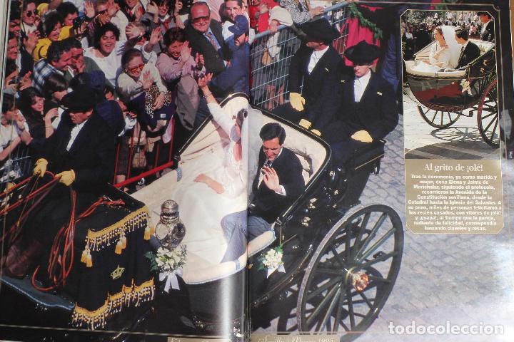 Coleccionismo de Revista Diez Minutos: Diez Minutos nº 2275. 31-13-95 Año XLV. Boda Infanta Elena y Jaime de Marichalar - (1995) - Foto 3 - 245590530