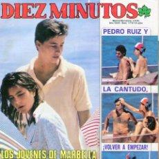 Coleccionismo de Revista Diez Minutos: DIEZ MINUTOS Nº 1776 3/9/1985 CHABELI-PEDRO RUIZ-MARIBEL VERDU 15 AÑOS-DUQUESA DE ALBA/PEPE NAVARRO. Lote 96756119