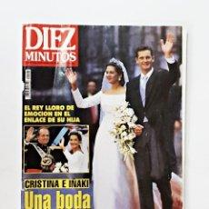 Coleccionismo de Revista Diez Minutos: REVISTA DIEZ MINUTOS Nº 2408 DE 17-10-1997. Lote 98158907