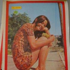 Coleccionismo de Revista Diez Minutos: POSTER DE LA REVISTA DIEZ MINUTOS. AÑO 1972. ACTRICES ACTORES CANTANTES. 40 X 27 CM. EMMA COHEN. Lote 98516007