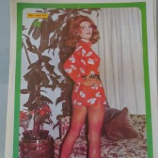 Coleccionismo de Revista Diez Minutos: POSTER DE LA REVISTA DIEZ MINUTOS AÑO 1972. ACTRICES ACTORES CANTANTES 40 X 27 CM ROSANNA YANNY. Lote 98516043